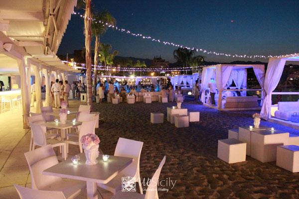 Villa Beach Wedding Taormina